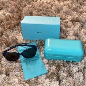 Tiffany & Co. Crystal Embellished Sunglasses